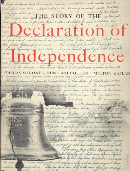 The Story of the Declaration of Independence ~ Book 1954
