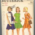 Butterick 5553 ~ Uncut Vintage Dress Pattern 1960's size 9/10
