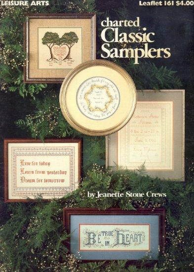 Charted Classic Samplers ~ Cross-Stitch Chart 1979