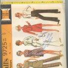 McCall's 9725 ~ Uncut Vintage Clothes Pattern 1969 ~ size 12