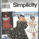 Simplicty # 8086 ~ Uncut Daisy Kingdom Pattern ~ size 8-14 Girls ~ 1992