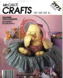 McCall's # 2975 ~ Baby Duck in Basket ( Enchanted Forest )  ~ 1987