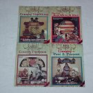 Country Decorative Painting Books by Faith Rollins ~ 1980's
