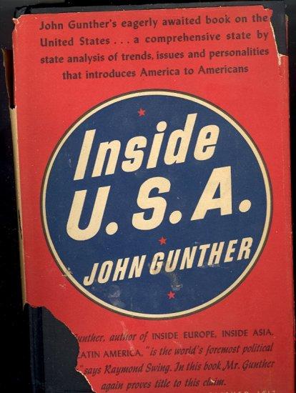 Inside U. S. A. by John Gunther ~ Book 1947