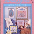 Bunnies and Sew Forth ~ Cross-stitch booklet Alma Lynne ~ 1987
