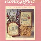 California Dreamin' ~ Cross-stitch Chart Alma Lynne ~ 1985