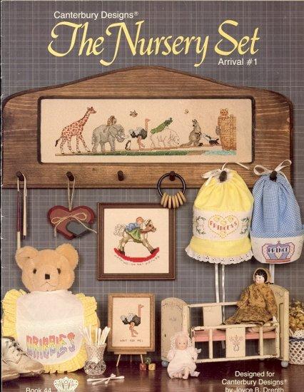 The Nursery Set Arrival # 1 ~ Cross-stitch Chart 1986
