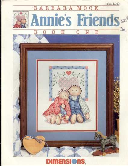 Annie's Friends ~ Barbara Mock ~ Cross-stitch Chart 1987