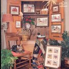 Americana by Alexa ~ Jeanine Alexander Sherman ~ Cross-stitch and Needlepoint Booklet 1981