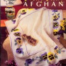 Pretty Pansy Afghan ~ Annie's Attic Crochet Booklet 1999