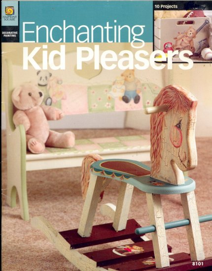 Enchanting Kid Pleasers ~ Decorative Painting Booklet 2004