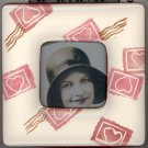 Valentines and Hearts Ceramic Picture Frame
