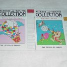 Balloons, Kids & Bubblegum and Designs for Little Ones ~ 2 Iron-On Transfers ~ Booklets 1980