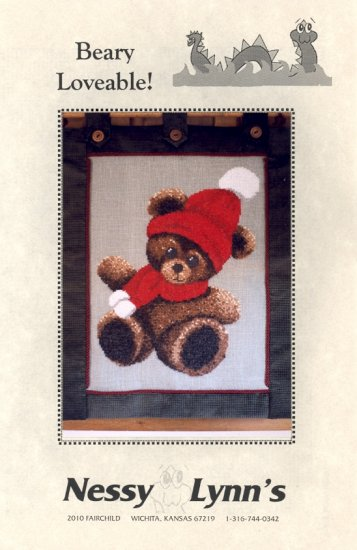 Beary Loveable! ~ Cross-stitch Chart ~ Teddy Bear 1999