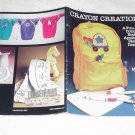 Crayon Creations by Marina Wood ( Appliqué and Stencil designs ) ~ Booklet 1984