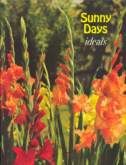 Sunny Days by Ideals ~ Poems Book 1973