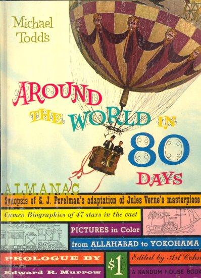 Around the World in 80 Days Almanac ~ Book 1958