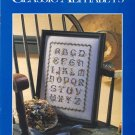 Classic Alphabets (Supplement to Just CrossStitch) ~ Cross-Stitch Chart 1989