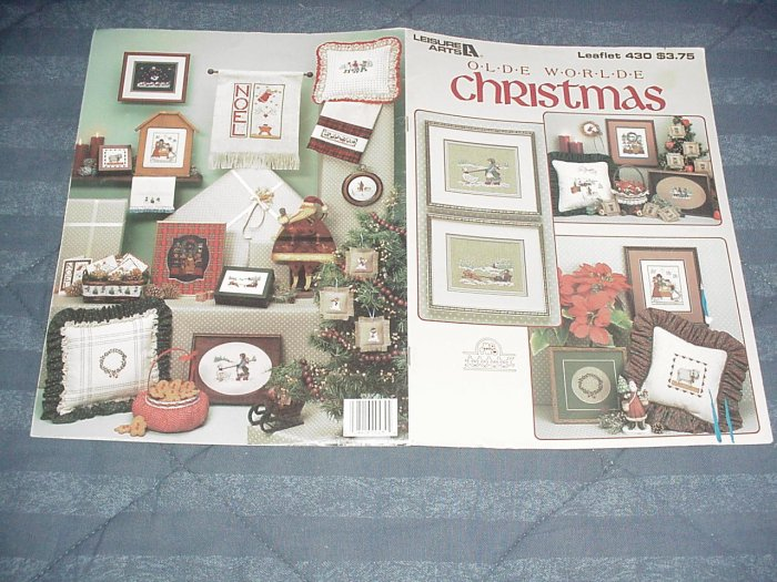 Olde Worlde Christmas ~ Cross-Stitch Chart 1986