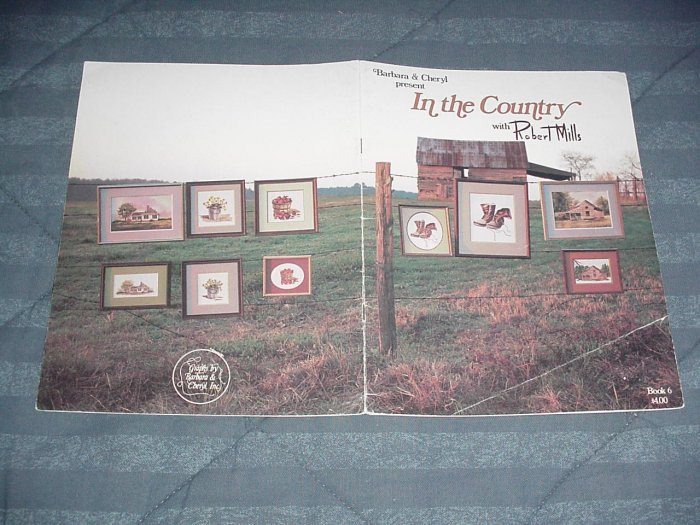 In The Country by Robert Mills ~ Cross-Stitch Chart 1981