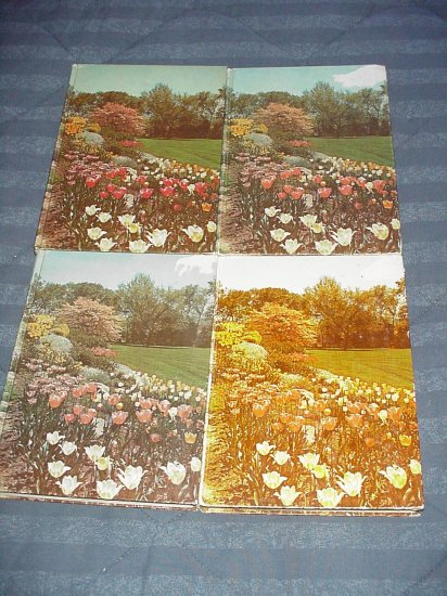 New Illustrated Encyclopedia of Gardening ~ 4 Books 1960