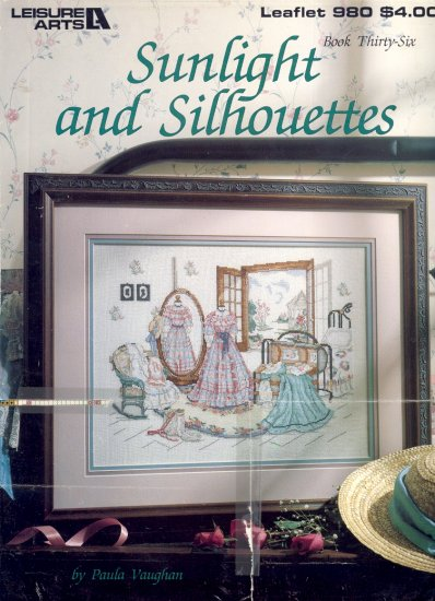 Sunlight and Silhouettes by Paula Vaughan ~ Cross-Stitch Chart 1990