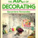 The ABC's of Decorating by Genevieve Fernandez ~ Book 1981