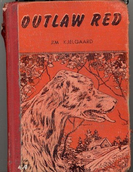 Outlaw Red by Jim Kjelgaard ~ Book 1953