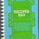 Mmm, Mmm, Good! Recipes 1981 ~ Cook Book 1981
