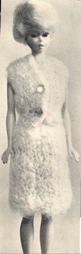 Vintage Barbie Mohair Suit Knit Pattern