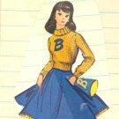 Vintage Barbie Sweater Knit Pattern