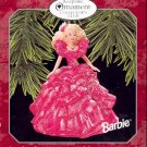 Hallmark Members Only Ornament ~ Holiday Barbie 1998 ~ based on the 1990 Holiday Barbie