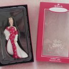 Hallmark Porcelain Ornament ~ Barbie 2000 ~ Members only