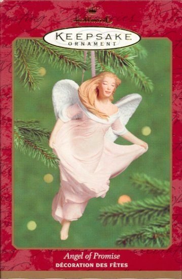 Hallmark Ornament ~ Angel of Promise 2000