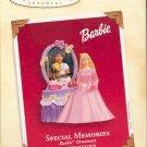 Hallmark Ornament ~ Special Memories Barbie Photoholder 2003