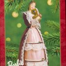 Hallmark Ornament ~ Victorian Barbie with Cedric Bear  2001