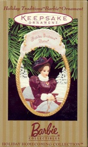 Hallmark Ornament ~ Holiday Traditions Barbie 1997