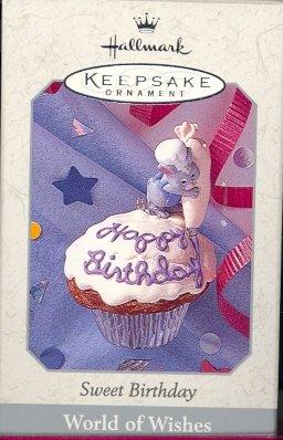 Hallmark Spring Ornament ~ Sweet Birthday ~ 1998