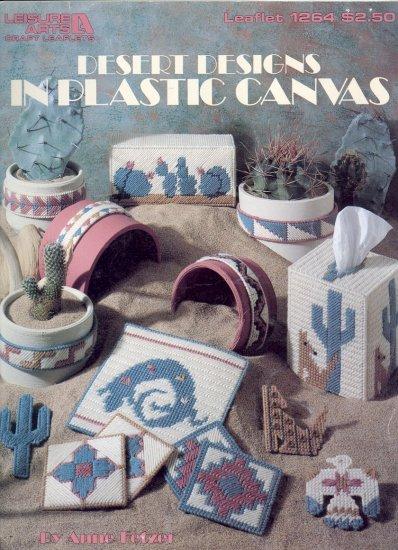 Desert Designs in Plastic Canvas by Anne Fetzer ~ Plastic Canvas Chart 1990