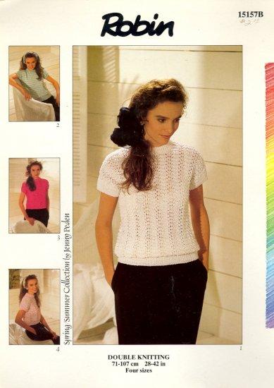 Double Knitting by Jenny Peden ~ Sweaters ~ Knit Chart