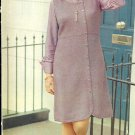 Vintage Knit Jumper Dress Pattern ~ Woman's Sizes ~ 1974
