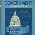 American Government (Problems of Democracy) by Frank Abbott Magruder ~ Book 1950