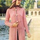 Vintage Knit Coat ~ Misses Sizes ~ 1972