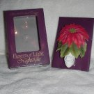 Red Poinsettia Nightlight ~ NEW by Ibis & Orchid Design