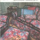 Simplicity Pattern # 7485 ~ Slipcovers ~ 1991 ~ UNCUT