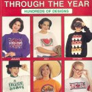 Iron-On Transfers Through the Year ~ 1991 Book