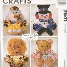 McCall's # 7641 ~ Treat Baskets ~ Uncut Pattern ~ 1995