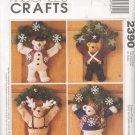 McCall's # 2390 ~ Bear Wreaths ~ Uncut Pattern ~ 1999