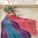 Vintage Afghans Knit & Crochet Book