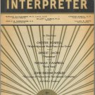 World Affairs Interpreter Book ~ Autumn 1932